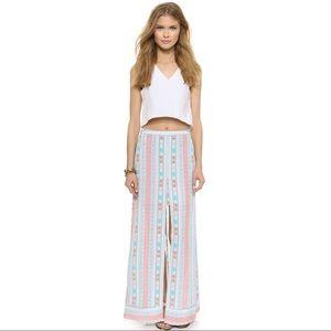 BCBGMaxAzria Jane Ikat Ombre Maxi Skirt